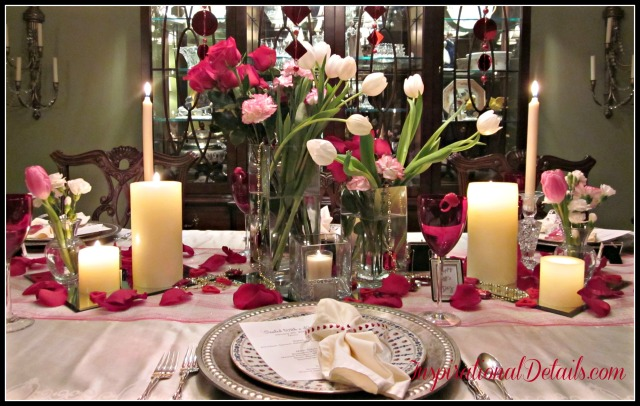 Valentine's day tablescape ideas