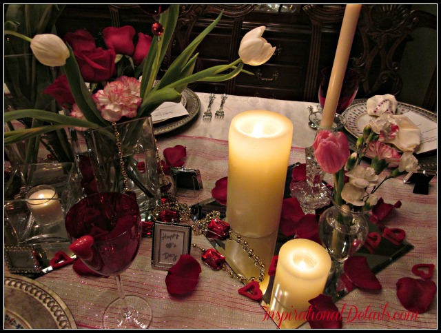 valentine's day dinner party decor