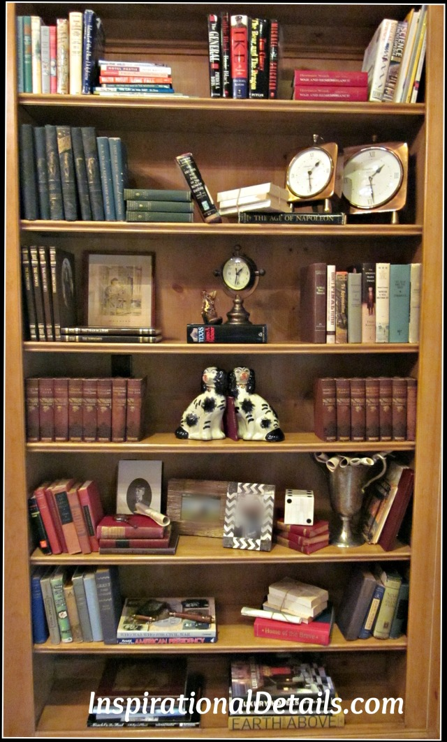 arranging interesting bookcases