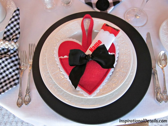 Valentine's Day table & food ideas