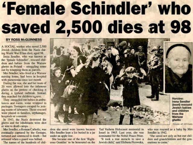 Irena Sendler - InspirationalDetails.com