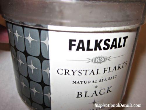 using black falksalt
