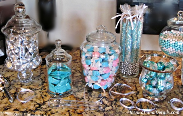 amazing aqua blue candy bar