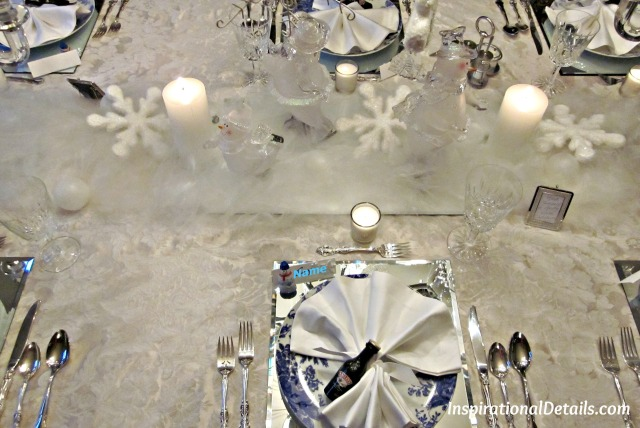 snowy table theme