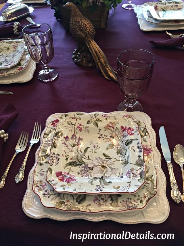 table settings ideas for fall