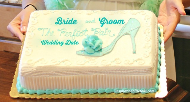 bridal shower with a shoe theme