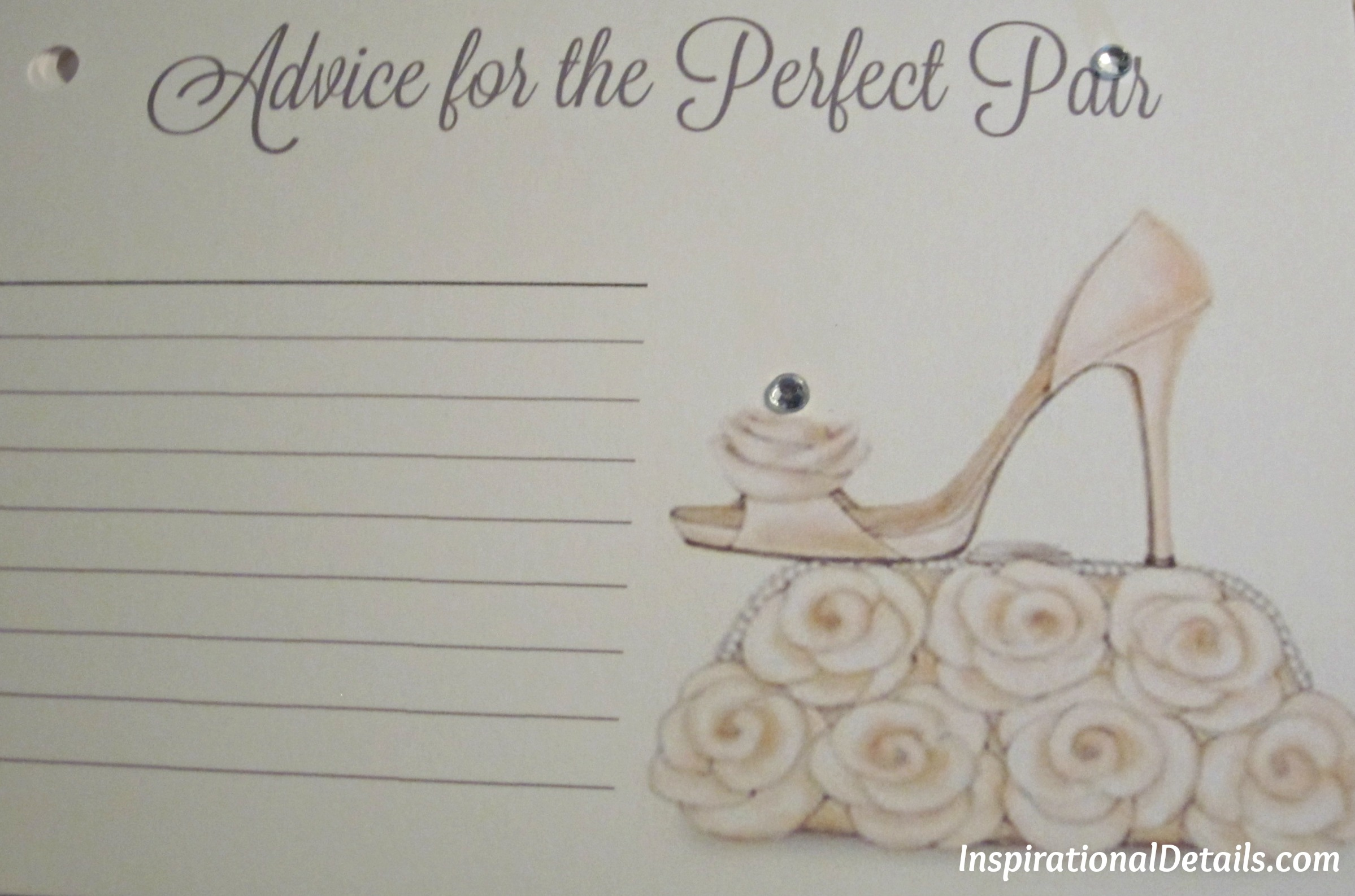 A wedding journey bridal shower girls just wanna have fun bridal shower ideas with shoe theme filmwisefo