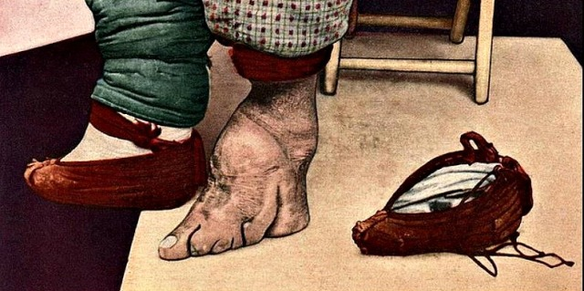 Chinese foot binding photos