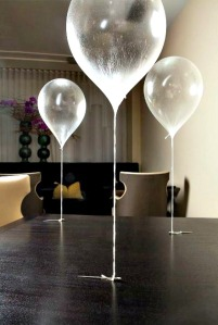 inspiration from Chef Grant Achatz and Alinea's edible helium balloon