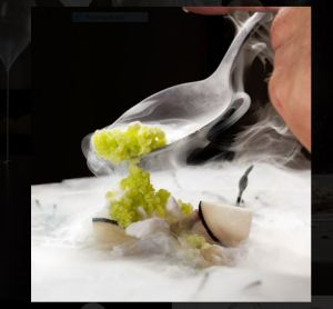 inspired by Chef grant Achatz / eating at Alinea