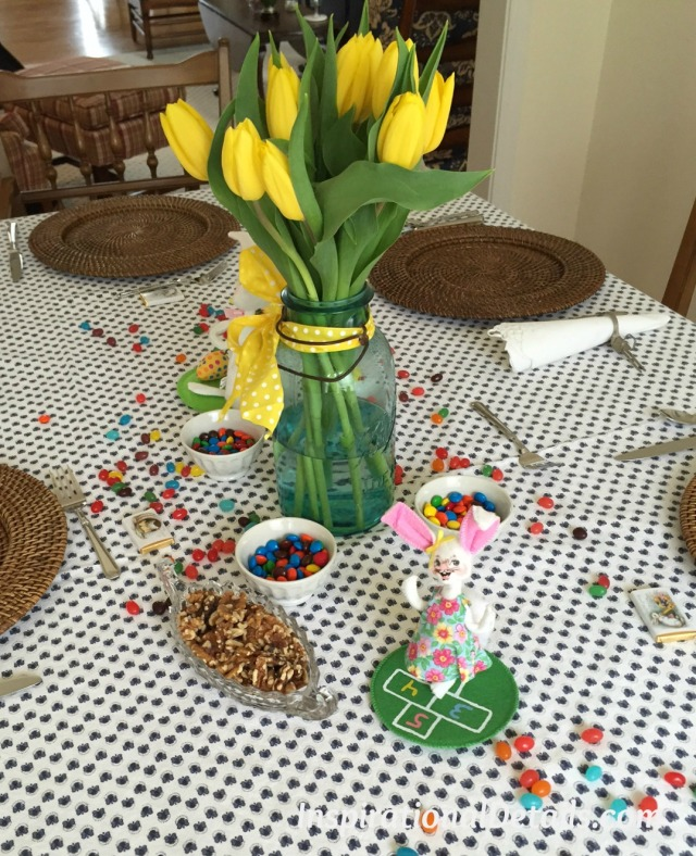 Easter themed lunch