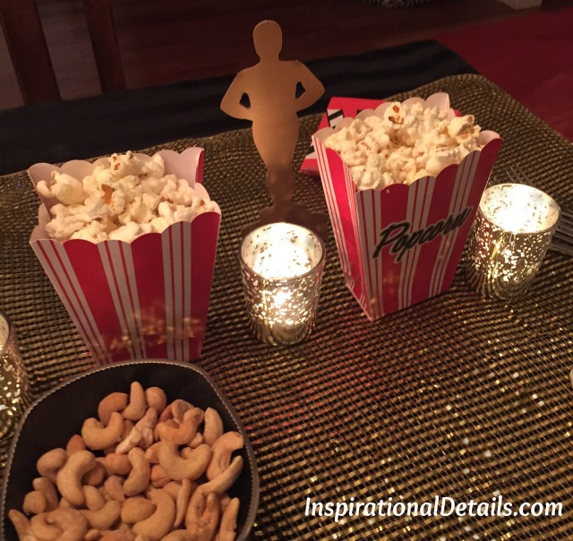 Oscar theme tablescape