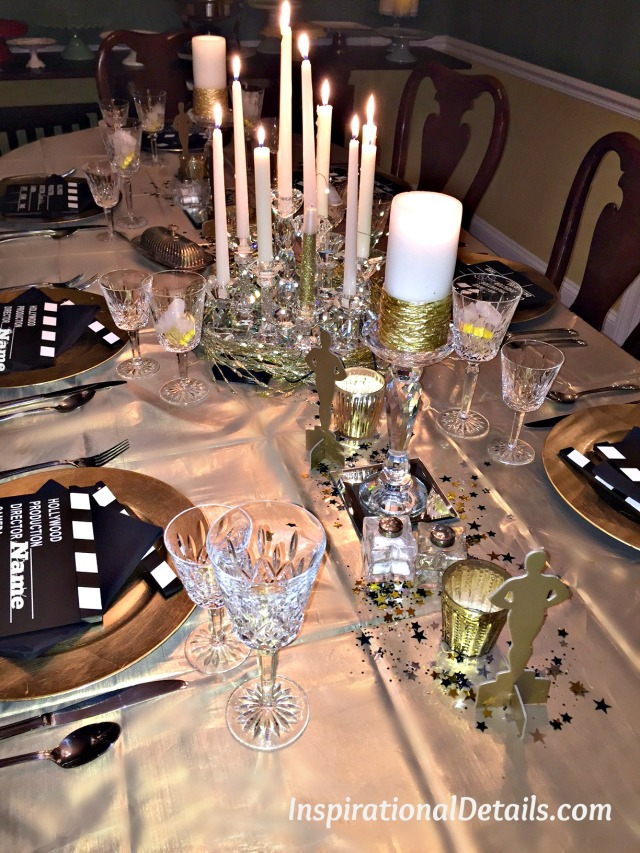 Oscar themed dinner party