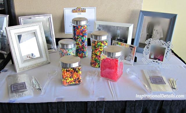candy bar ideas for a wedding