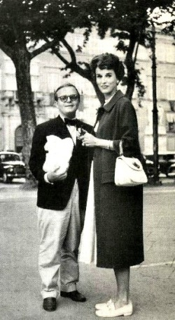 Truman Capote and Babe Paley Photo source: google images
