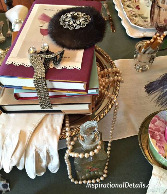 vintage theme luncheon ideas