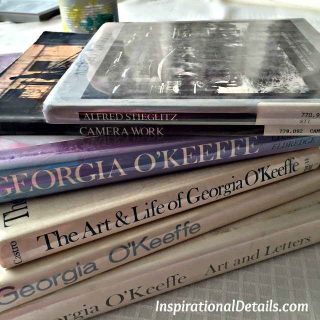 book club ideas about Georgia O'Keefe