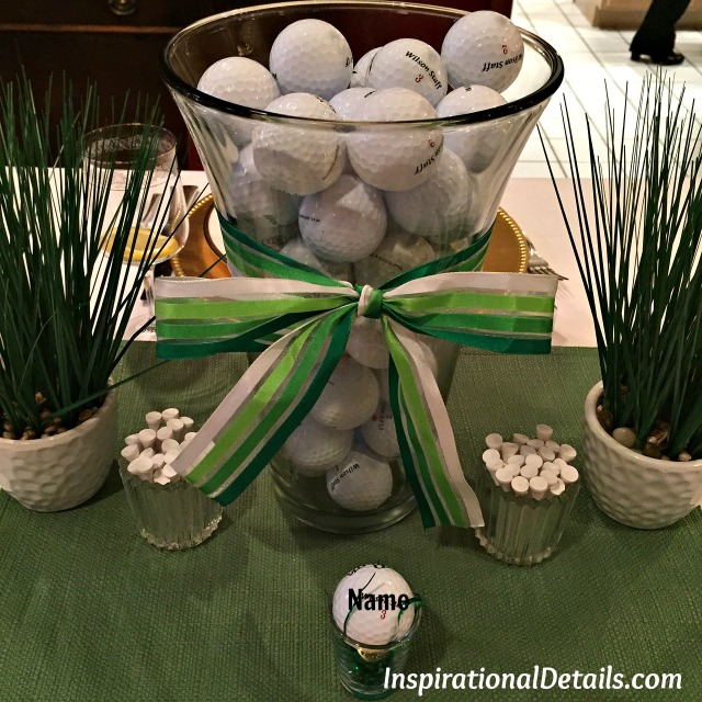 golf theme party ideas