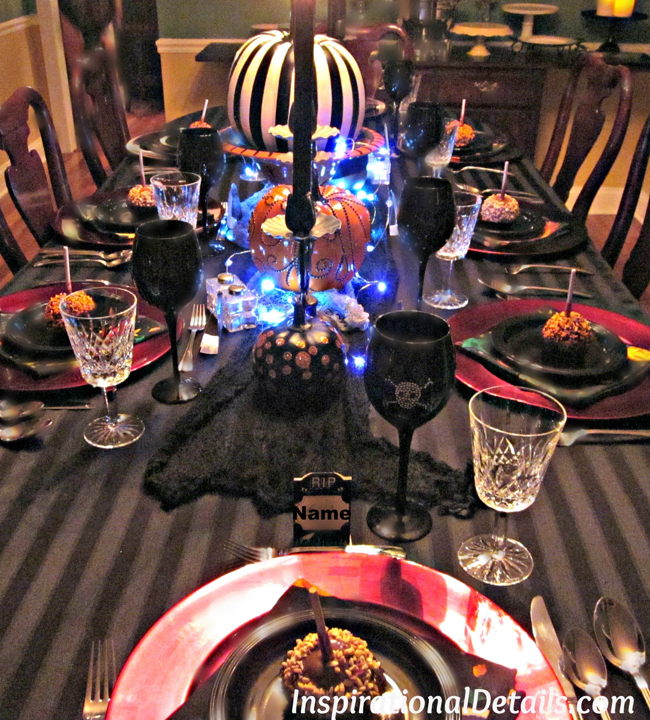 halloween dinner party: a spooky gourmet group affair