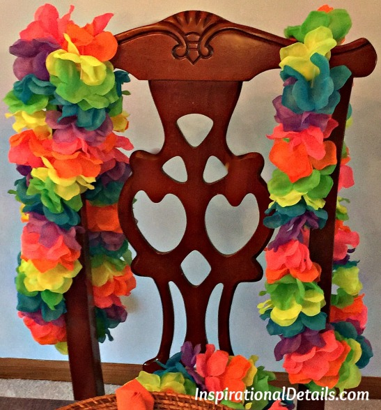 tropical island party ideas