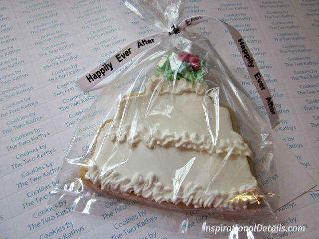 wedding cookies/favors