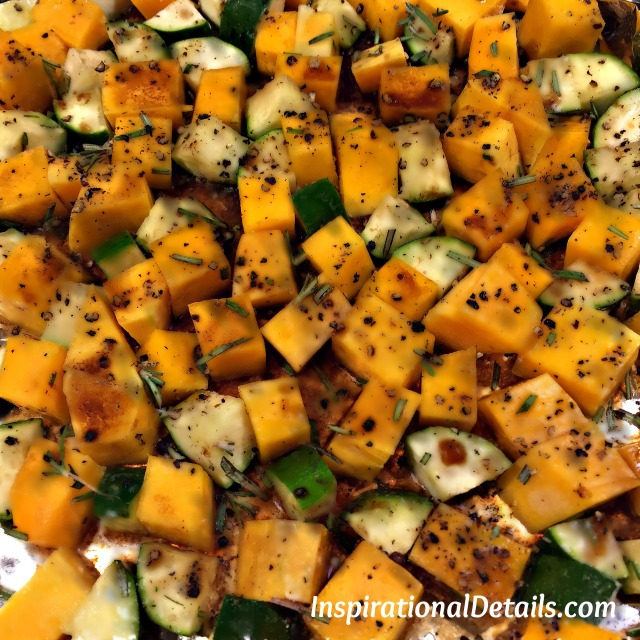 Roasted Butternut Squash & Zucchini