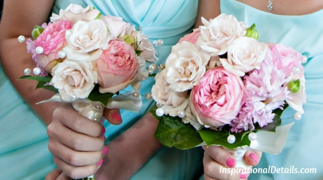 junior bridesmaids bouquet ideas