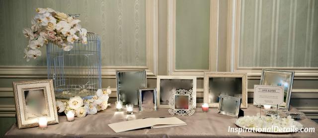 pretty gift card bird cage - wedding decor