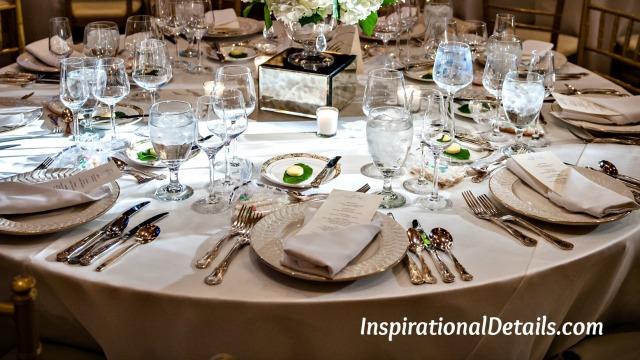 wedding reception - special details