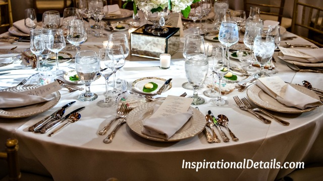 wedding reception - special details