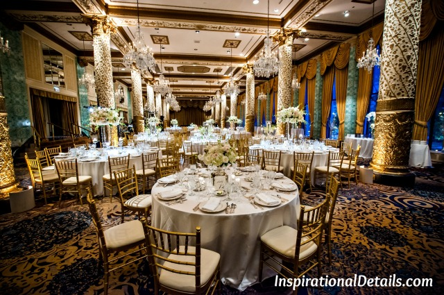 gorgeous wedding reception