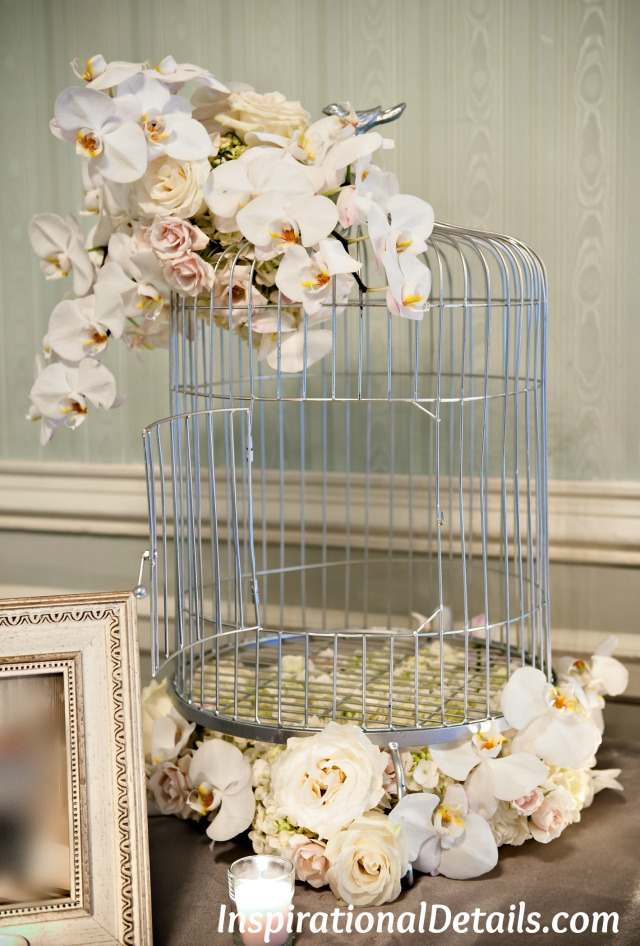 beautiful bird cage for gift cards for wedding