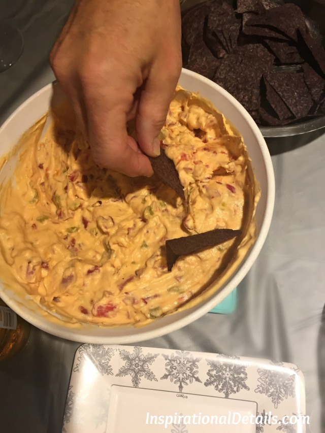 Andouille Cheese Dip appetizer idea