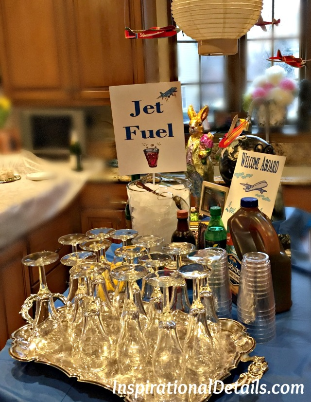 airline/pilot party ideas