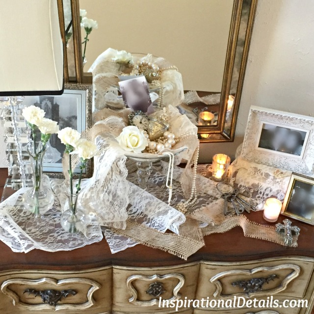 vintage look bridal shower ideas