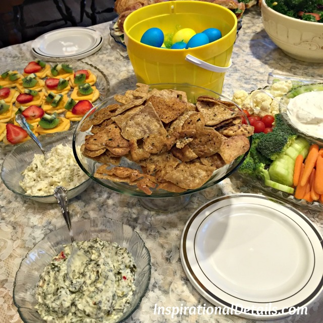 bridal shower foods