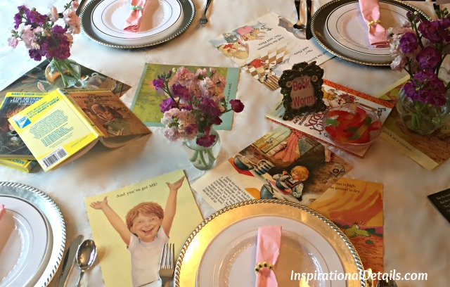 baby shower with book theme inspiration
