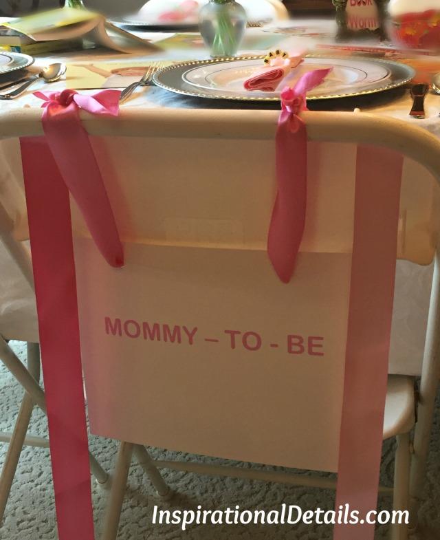 baby girl shower inspiration