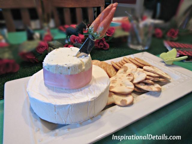 Derby Cheese Hat - Derby menu ideas