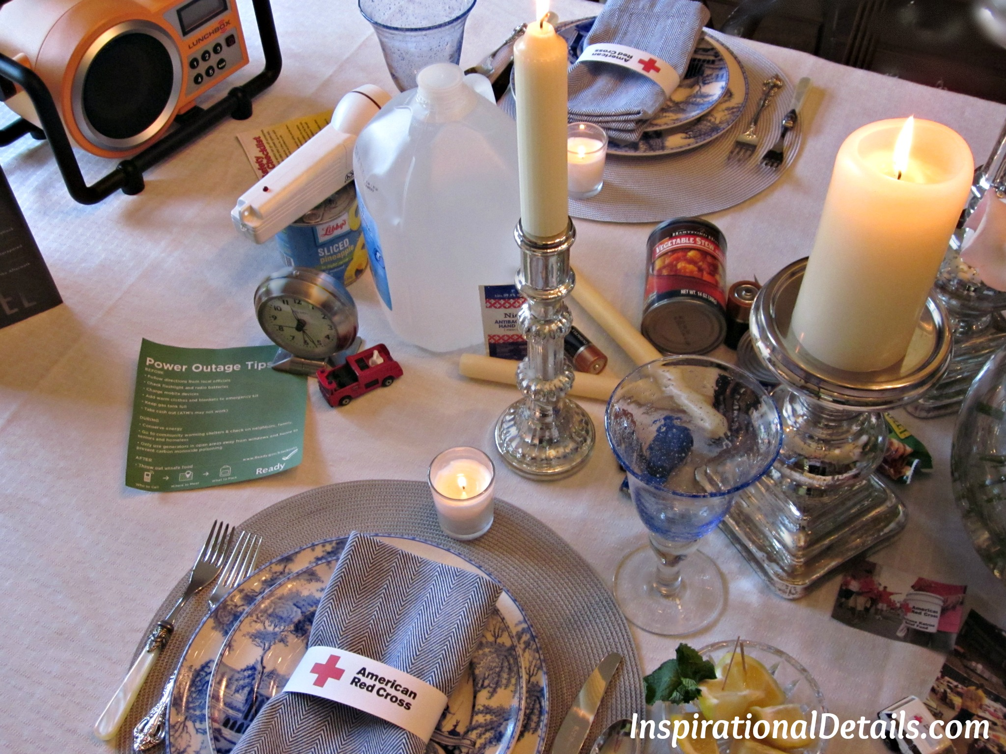 Lights Out Book Club Has Lunch By Candlelight