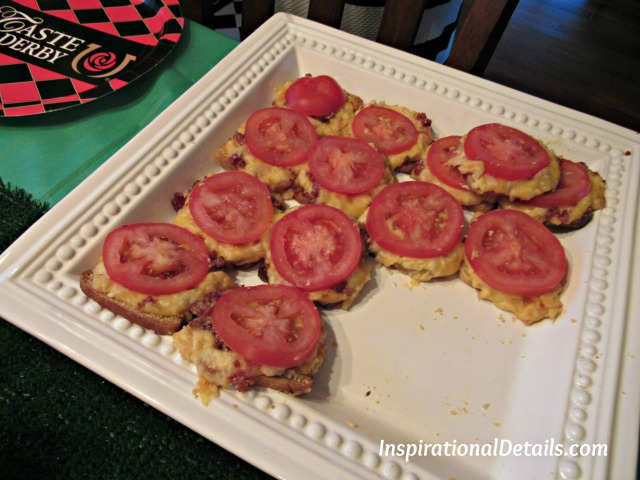 Baby Hot Browns - Derby appetizers ideas