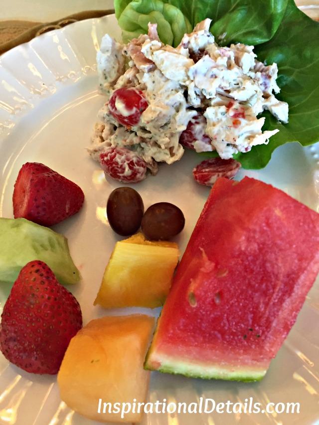 BLT chicken salad (book club lunch ideas)