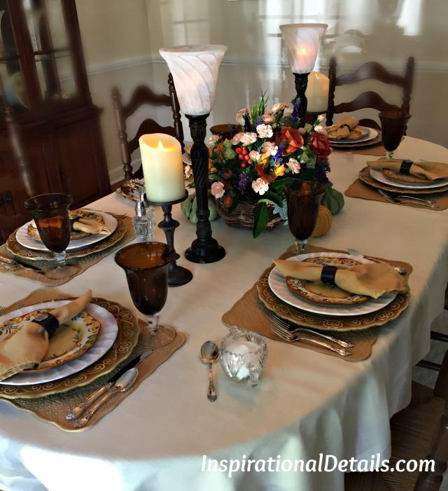 fall/autumn table ideas