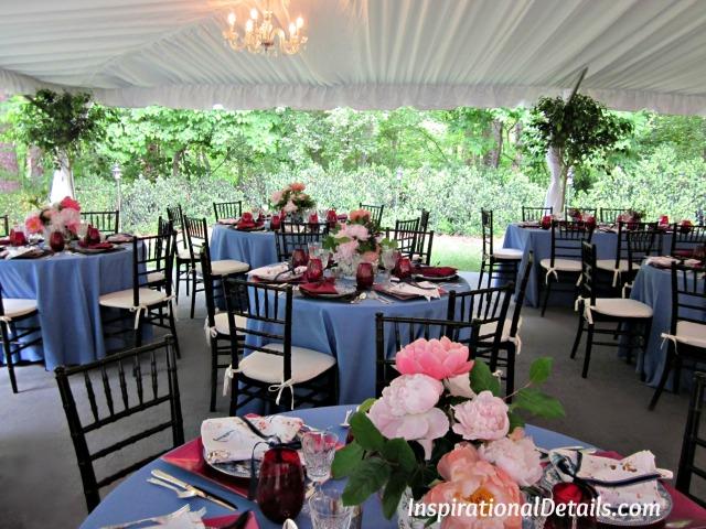 engagement party ideas (tent)