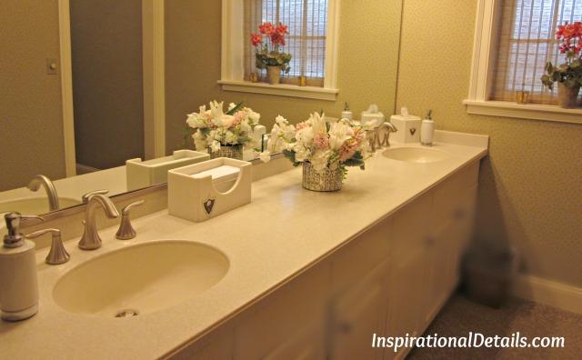 pretty flower ideas for bridal shower