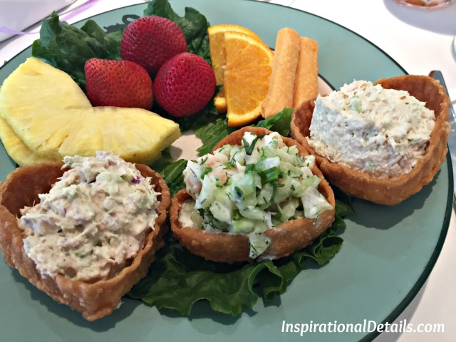 Bridal Shower food ideas - Salad Sampler