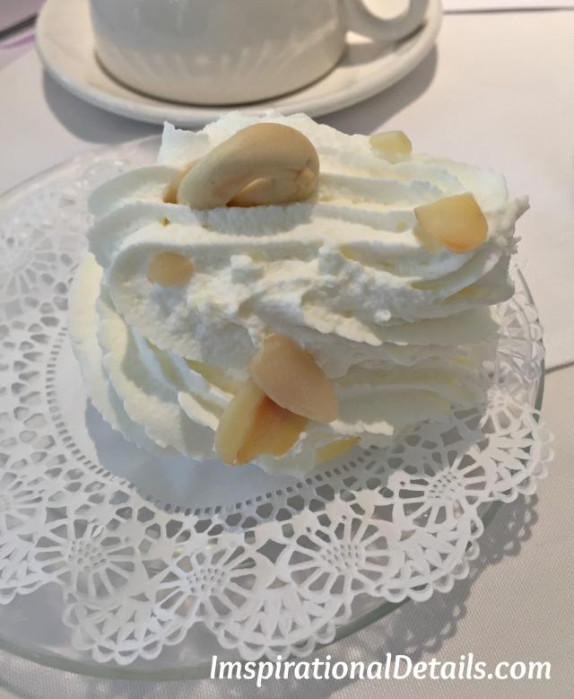 Swan House Signature Swan Dessert