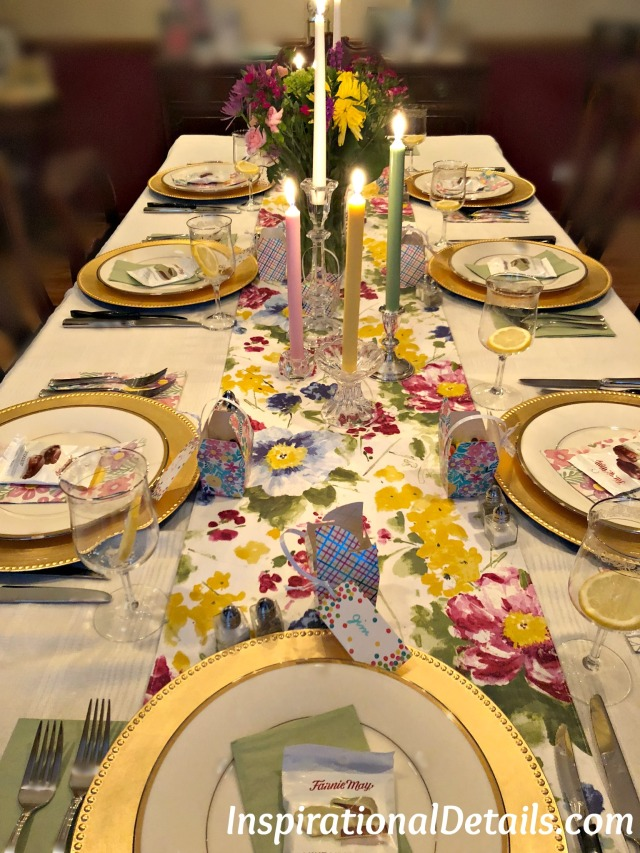springtime tablescape ideas