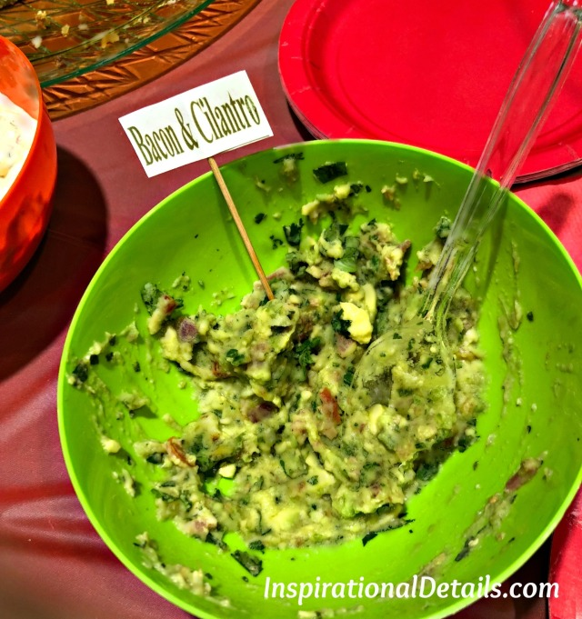 Bacon & Cilantro Guacamole - cinco de mayo menu ideas