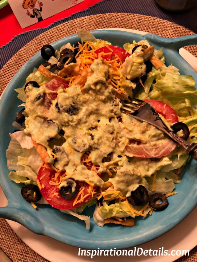 mexican salad / mexican menu ideas